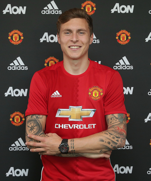 Manchester United Announce Signing of Victor Lindelof : News Photo