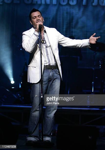Victor Manuel during El Vacilon Anniversary Concert March 10 1006 at James L Knight Center in Miami Florida United States