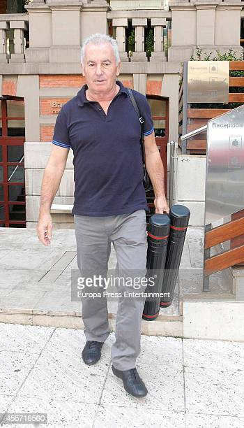 Victor Manuel is seen on September 11 2014 in Oviedo Spain