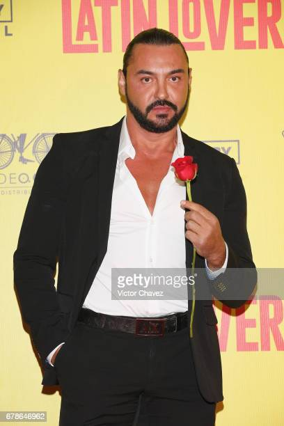 Victor Manuel Resendez 'Latin Lover' attends the 'How To Be A Latin Lover' Mexico City premiere at Teatro Metropolitan on May 3 2017 in Mexico City...
