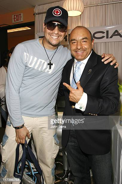 Victor Manuelle and Giovanni 'The Margarita King' *EXCLUSIVE*