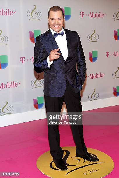 Victor Manuelle attends Premio Lo Nuestro a la Musica Latina 2014 at American Airlines Arena on February 20 2014 in Miami Florida