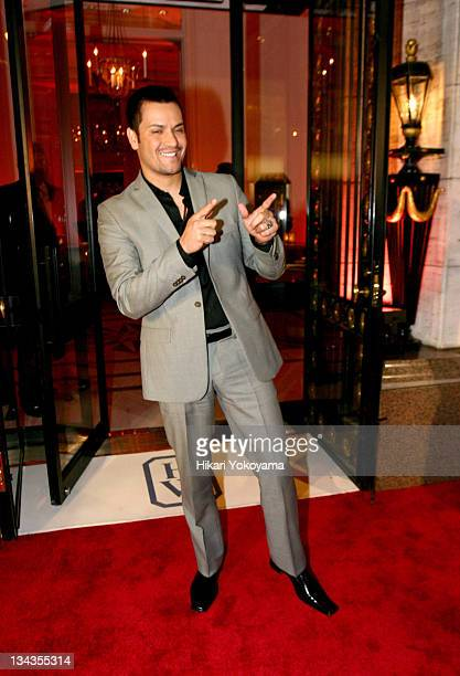 Victor Manuelle during Harry Winston and NYC Big Host a Salute to Latino Fashion at Harry Winston Jewelers in New York City New York United States