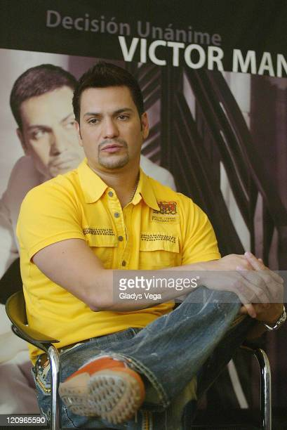 Victor Manuelle during Victor Manuelle Press Conference May 4 2006 in San Juan Puerto Rico Puerto Rico