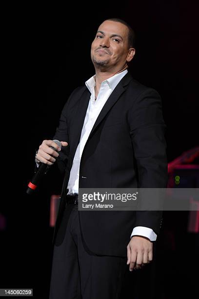 Victor Manuelle performs at Hard Rock Live in the Seminole Hard Rock Hotel Casino on May 22 2012 in Hollywood Florida