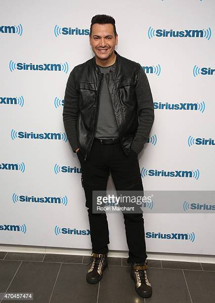 Victor Manuelle visits at SiriusXM Studios on April 20 2015 in New York City