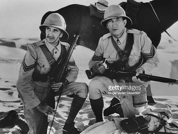 Victor McLaglen in the film of John Ford 'The Lost Patrol' USA 1934