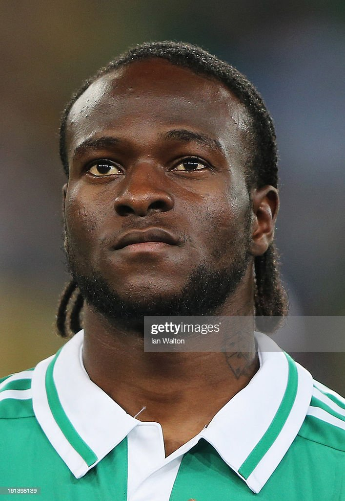 Victor Moses of Nigeria during the 2013 Africa Cup of Nations Final match between Nigeria and Burkina at FNB Stadium on February 10, 2013 in Johannesburg, South Africa.
