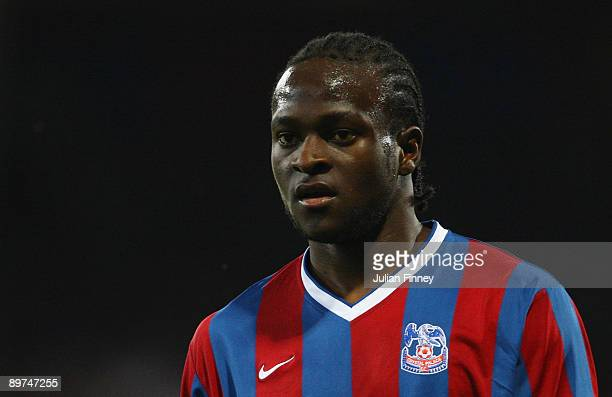 Victor Moses of Palace looks on during the Carling Cup match between Crystal Palace and Torquay United at Selhurst Park on August 11 2009 in London...
