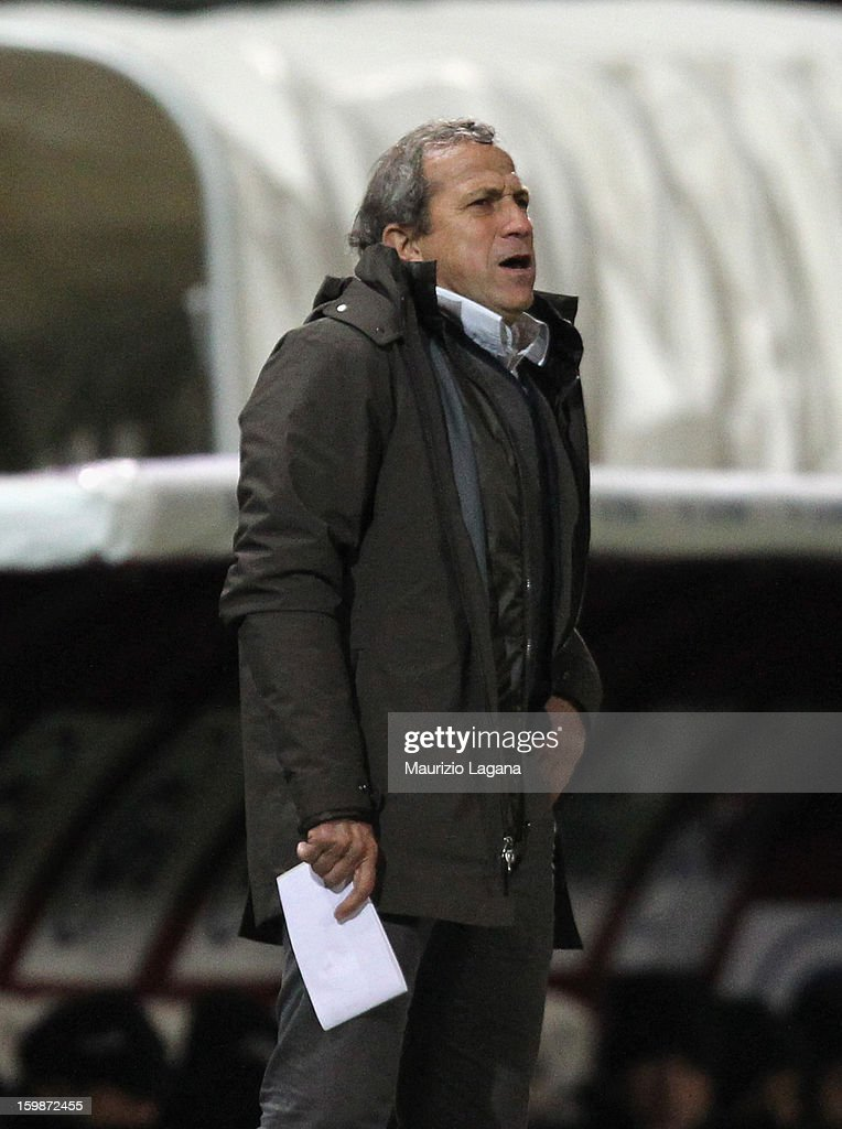 Victor Munoz, head coach of Sion during the friendly match between Reggina Calcio and FC Sion on January 18, 2013 in Reggio Calabria, Italy.