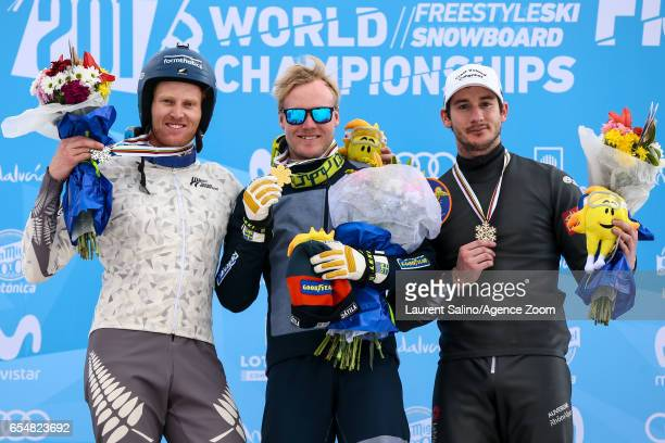 Victor Oehling Norberg of Sweden wins the gold medal Jamie Prebble of New Zealand wins the silver medal Francois Place of France wins the bronze...