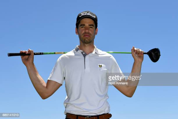 Victor Riu of France poses for a portrait during the first round of Andalucia Costa del Sol Match Play at La Cala Resort on May 18 2017 in La Roda de...