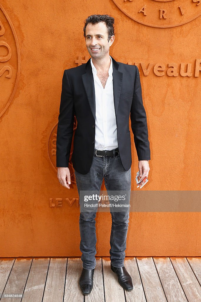 Victor Robert attends The French Tennis Open Day Seven at Roland Garros on May 28, 2016 in Paris, France.