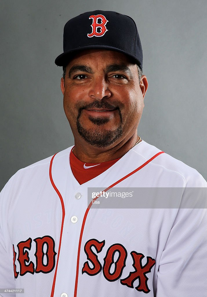 Victor Rodriguez #57 of the Boston Red Sox poses for a portrait during Boston Red Sox Photo Day on February 23, 2014 at JetBlue Park in Fort Myers, Florida.