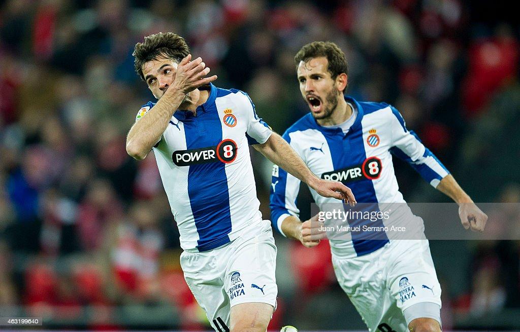 Athletic Club v RCD Espanyol - Copa del Rey Semi-Final: First Leg
