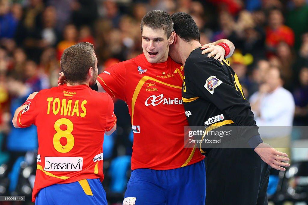 Spain v Slovenia - Semi Final - Men's Handball World Championship 2013