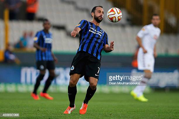 Victor Vazquez of Brugge in action during the Group B UEFA Europa League match between Club Brugge KV and Torino FC at the Jan Breydelstadion on...