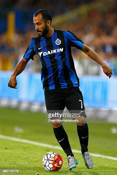 Victor Vazquez of Club Brugge in action during the third qualifying round 2nd Leg UEFA Champions League match between Club Brugge and Panathinaikos...