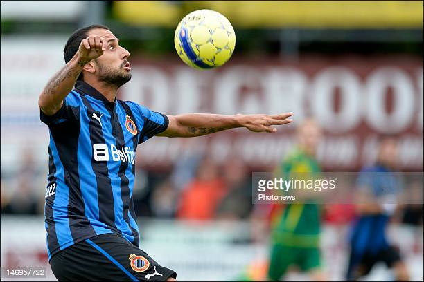 Victor Vazquez of Club Brugge KV in action during the friendly game between K Standaard Wetteren and Club Brugge KV on June 24 2012 in Wetteren...