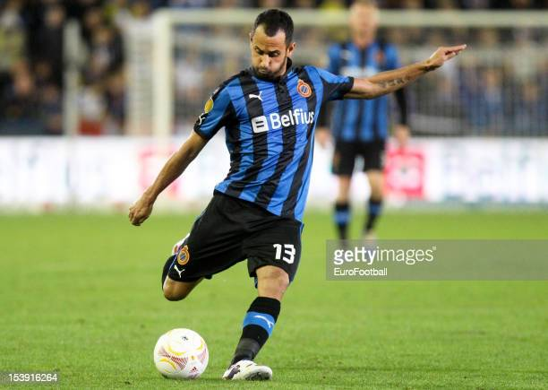 Victor Vazquez of Club Brugge KV in action during the UEFA Europa League group stage match between Club Brugge KV and CS Maritimo held on October 4...