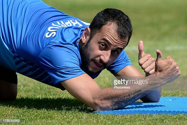 Victor Vazquez of Club Brugge KV pictured during a training session of Club Brugge on day 7 of the training camp on July 14 2013 in Manchester England