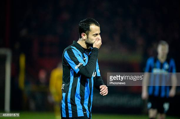 Victor Vazquez of Club Brugge pictured during the Cofidis Cup match between Kv Kortrijk and Club Brugge on December 04 2013 in Kortrijk Belgium