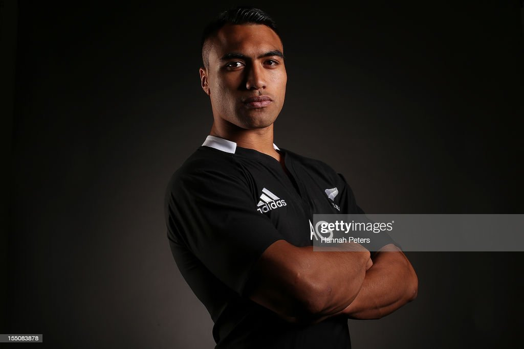 Victor Vito poses during a New Zealand All Blacks portrait session at the Heritage Hotel on November 1 2012 in Auckland New Zealand