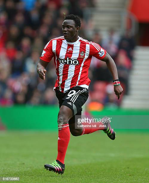 Victor Wanyama of Southampton during the Barclays Premier League match between Southampton and Liverpool on March 20 2016 in Southampton United...