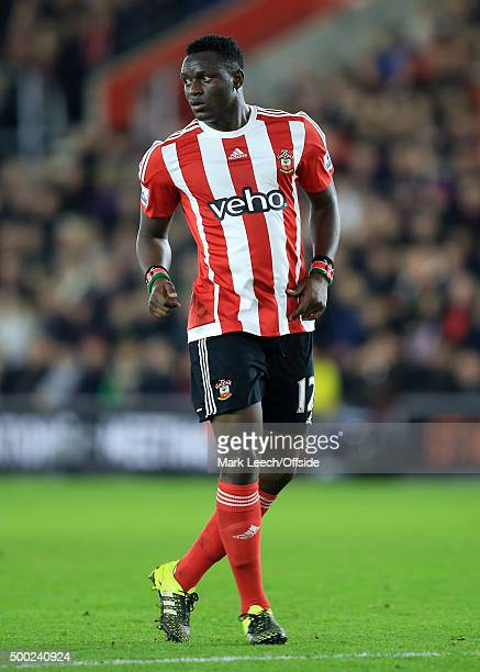 Victor Wanyama of Southampton during the Capital One Cup Quarter Final between Southampton and Liverpool at St Mary's Stadium on December 2 2015 in...