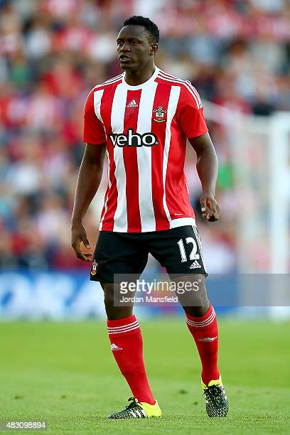 Victor Wanyama of Southampton in action during the UEFA Europa League Third Qualifying Round 1st Leg match between Southampton and Vitesse at St...