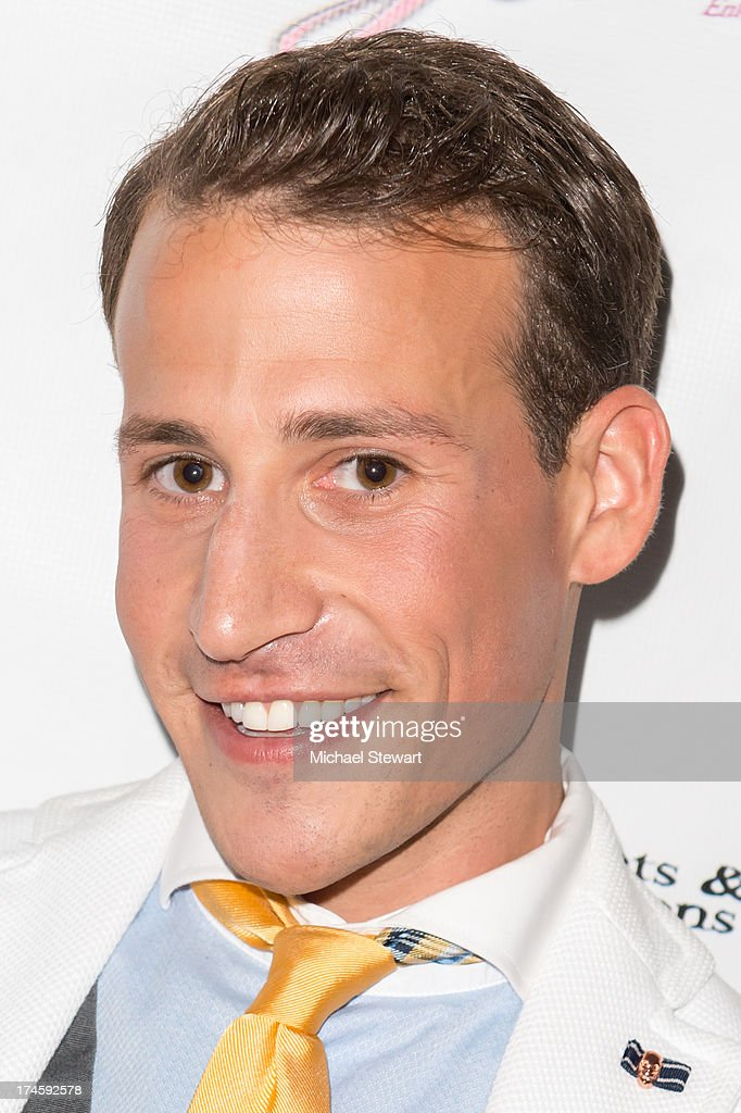Victor Weir-Voronov attends Johnny Weir & Victor Weir-Voronov's Birthday Celebration at Soho Grand Hotel on July 27, 2013 in New York City.