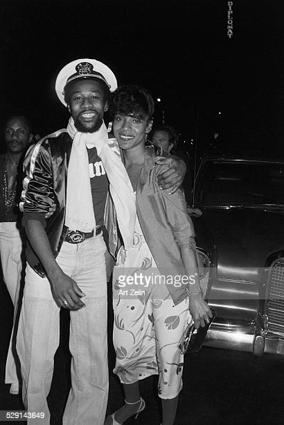 Victor Willis lead singer and cosongwriter for the original line up of American disco group Village People with his first wife actress Phylicia...