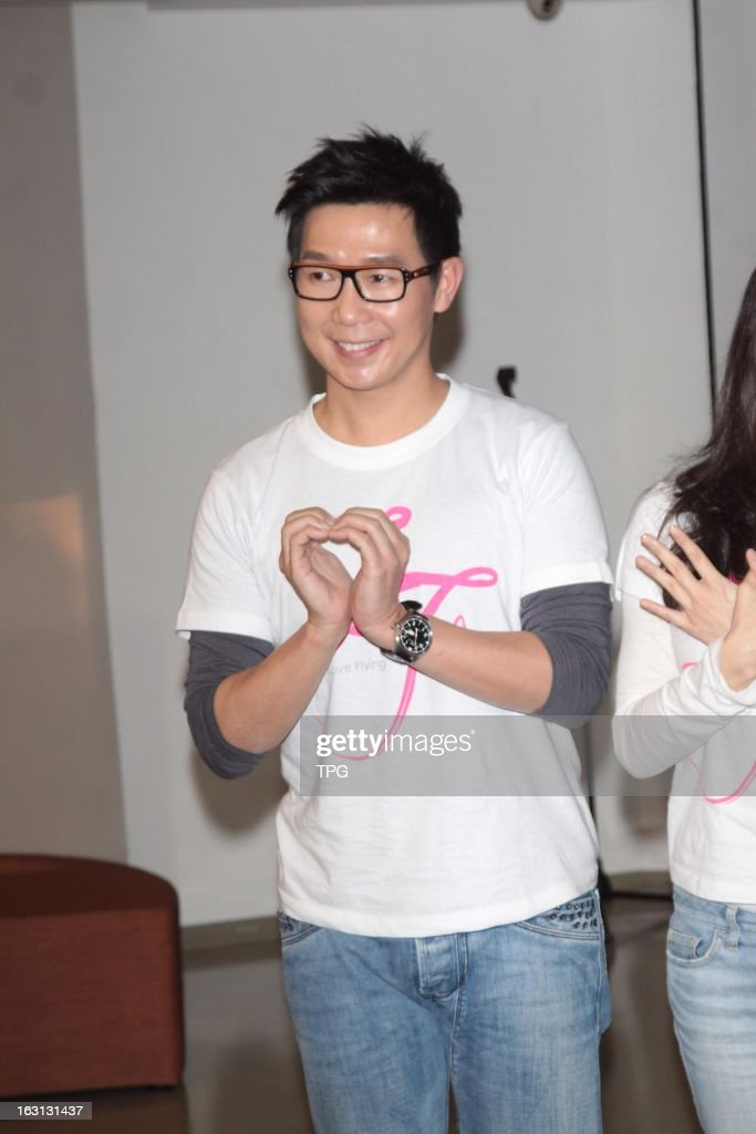 Victor Wong attend micro film support public benefit activities on Tuesday March 05,2013 in Taipei Taiwan,China.