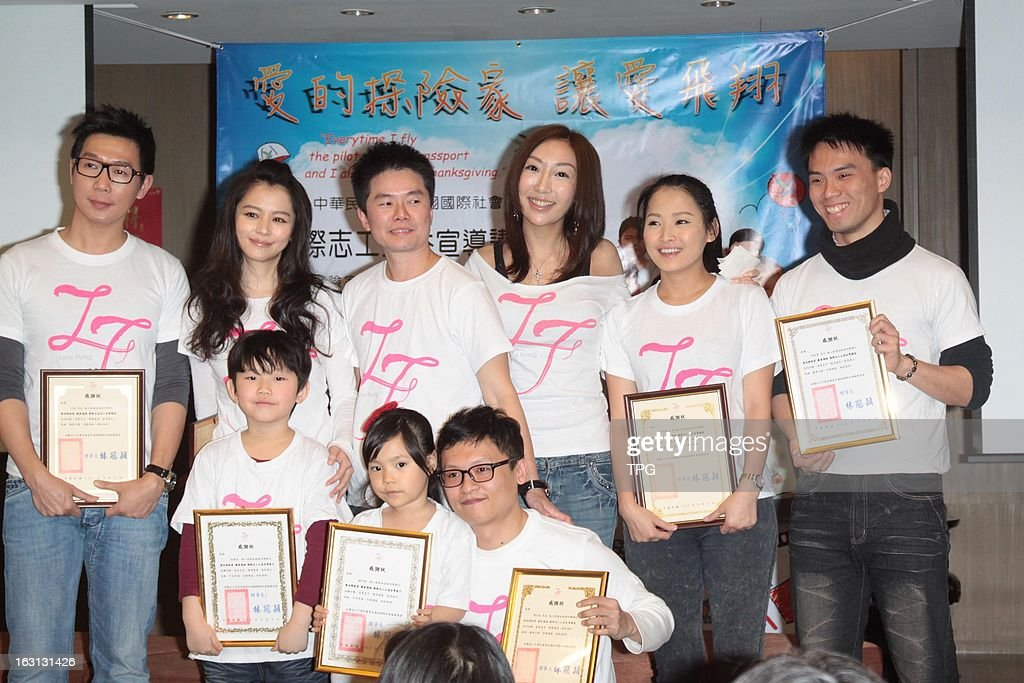 Victor Wong & Vivian Hsu attend micro film support public benefit activities on Tuesday March 05,2013 in Taipei Taiwan,China.