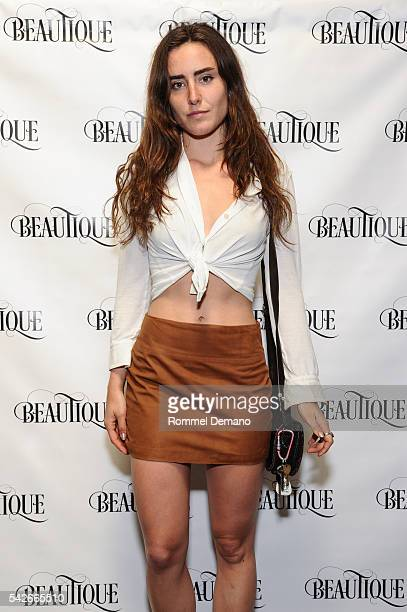 Victora de Lesseps attends Luxury Living Magazine Relaunch Party at Beautique on June 23 2016 in New York City