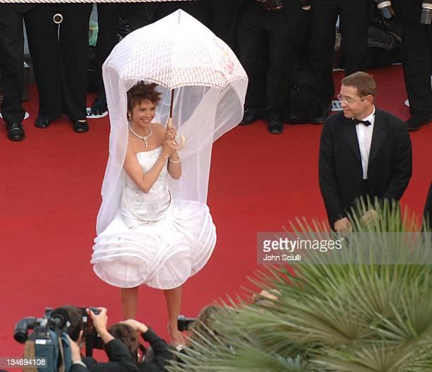 Victoria Abril Cannes 2005 Film Festival 'Cache' Premiere