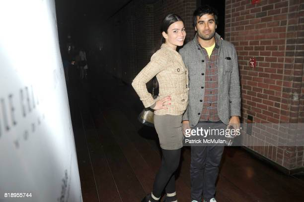 Victoria Alexander and Neel Shah attend Inaugural Junior Spring Benefit for LINCOLN CENTER INSTITUTE sponsored by VALENTINO at Hudson Hotel's Private...