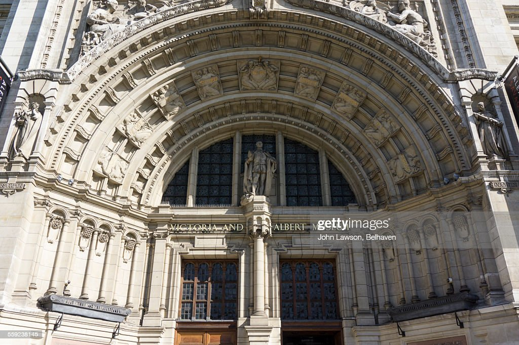 Victoria and Albert Museum, entrance