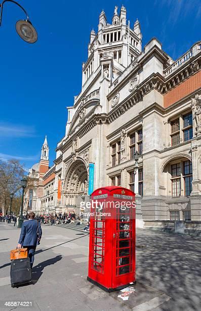 Victoria and Albert Museum in South Kensington