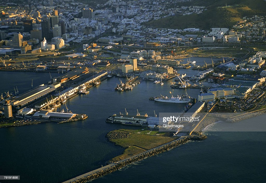 Victoria and Alfred Waterfront, Capetown, South Africa : Stock Photo