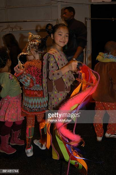 Victoria attends Child Magazine Fashion Show at The Atelier Tent at Bryant Park on February 7 2005 in New York City