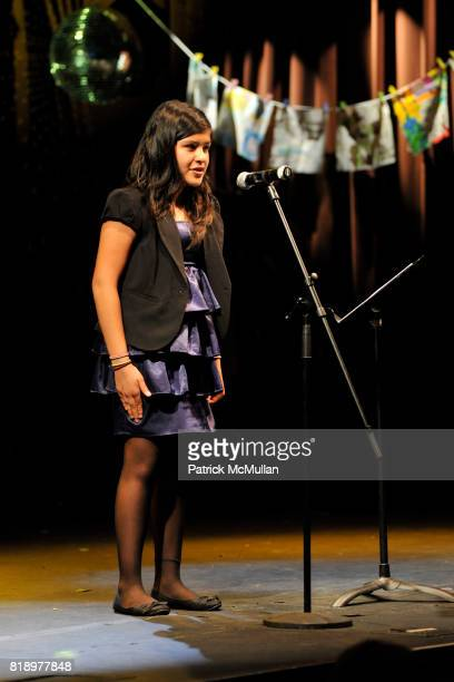 Victoria attends The East Harlem School presents 2010 Spring Poetry Slam at Highline Ballroom on May 4 2010 in New York City