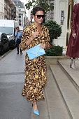 Celebrity Sightings at London Fashion Week - Day 5