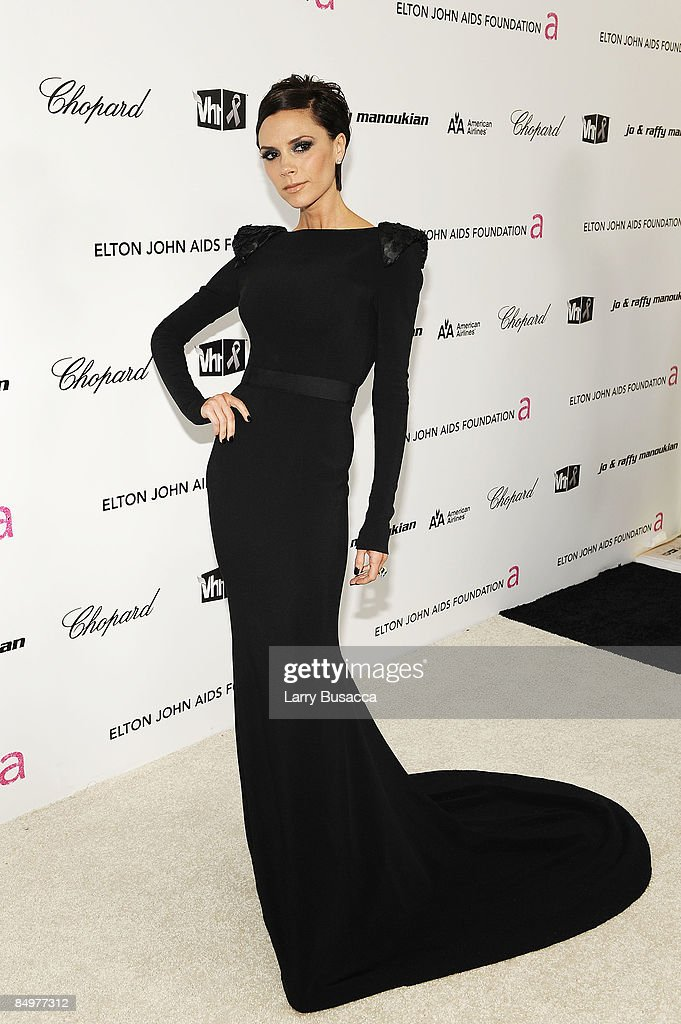 <a gi-track='captionPersonalityLinkClicked' href=/galleries/search?phrase=Victoria+Beckham&family=editorial&specificpeople=161100 ng-click='$event.stopPropagation()'>Victoria Beckham</a> arrives at the 17th Annual Elton John AIDS Foundation Oscar party held at the Pacific Design Center on February 22, 2009 in West Hollywood, California.
