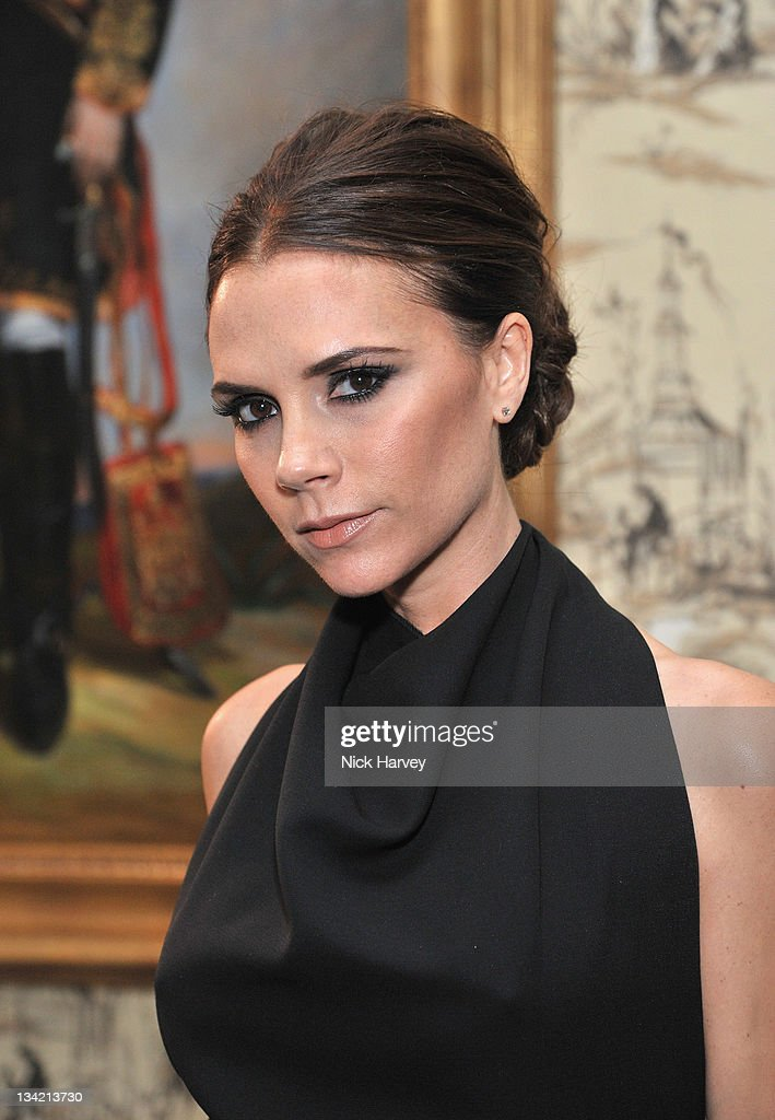 Victoria Beckham arrives at the British Fashion Awards at The Savoy Hotel on November 28, 2011 in London, England.