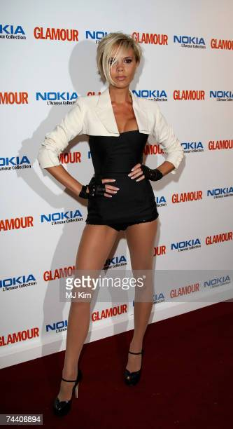 Victoria Beckham arrives at the Glamour Women Of The Year Awards the annual awards recognising the achievement of women with categories including UK...