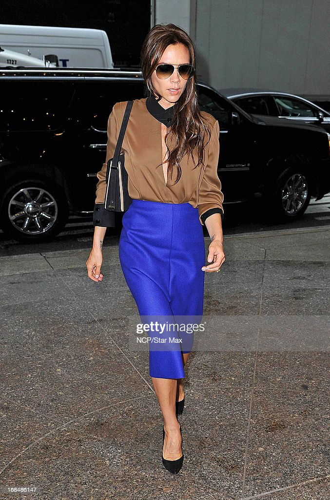 Victoria Beckham as seen on May 9, 2013 in New York City.