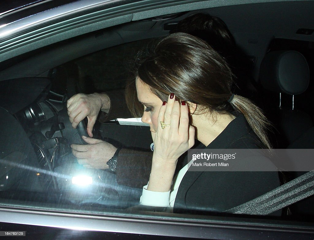 <a gi-track='captionPersonalityLinkClicked' href=/galleries/search?phrase=Victoria+Beckham&family=editorial&specificpeople=161100 ng-click='$event.stopPropagation()'>Victoria Beckham</a> at Locanda Locatelli restaurant on March 27, 2013 in London, England.