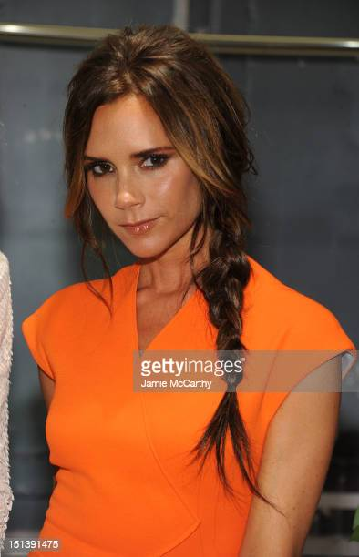 Victoria Beckham attends Bergdorf Goodman Celebrates Fashion's Night Out at Bergdorf Goodman on September 6 2012 in New York City