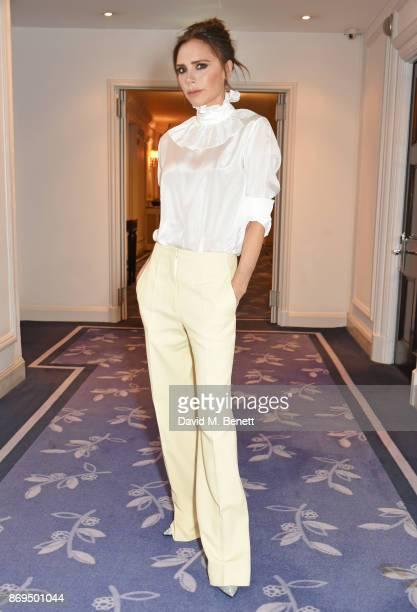 Victoria Beckham attends Harper's Bazaar Women of the Year Awards in association with Ralph Russo Audemars Piguet and MercedesBenz at Claridge's...